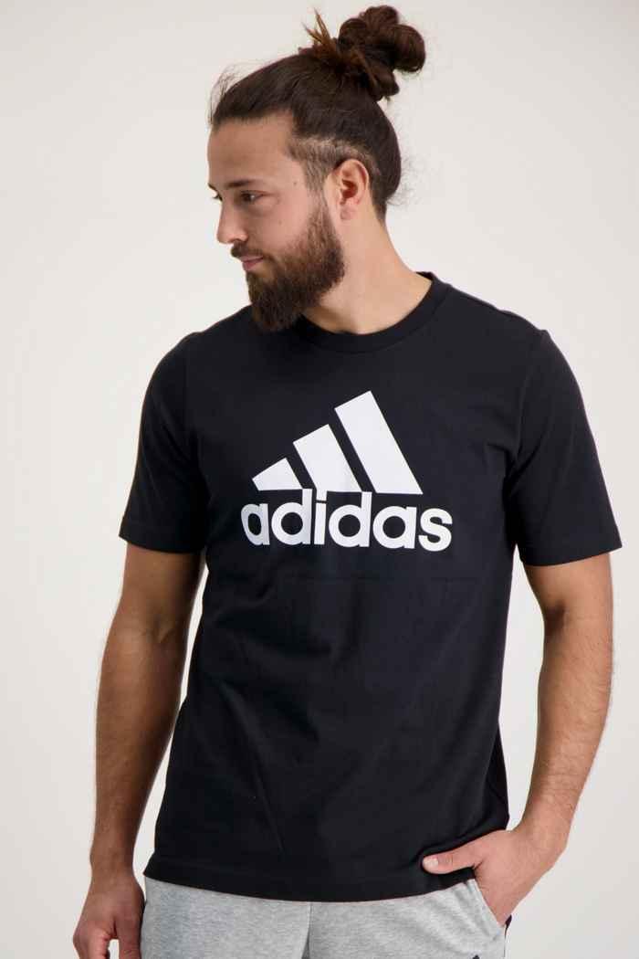 adidas Performance Essentials Big Logo Herren T-Shirt Farbe Schwarz 1