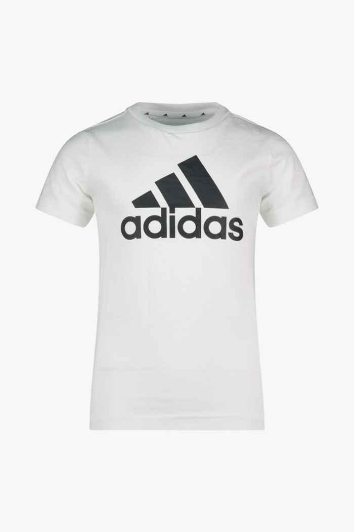 adidas Performance Essentials Big Logo Kinder T-Shirt Farbe Weiß 1
