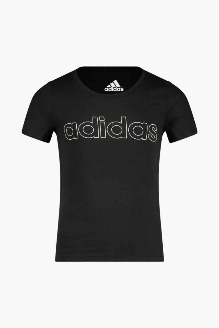 adidas Performance Essentials Logo Mädchen T-Shirt Farbe Schwarz 1