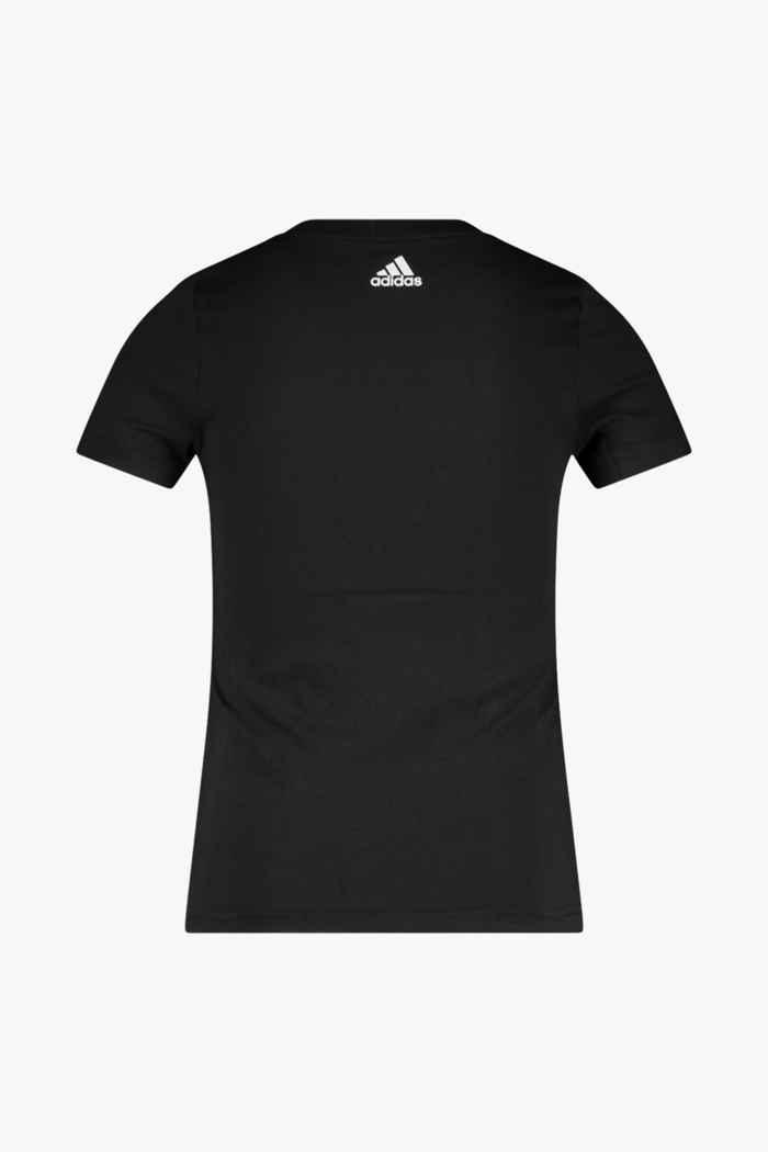 adidas Performance Essentials Logo Mädchen T-Shirt Farbe Schwarz 2