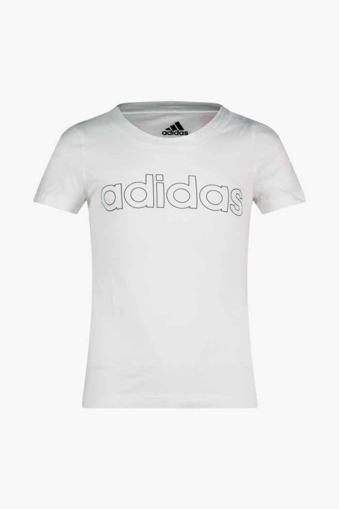 adidas Performance Essentials Logo Mädchen T-Shirt Farbe Weiß 1