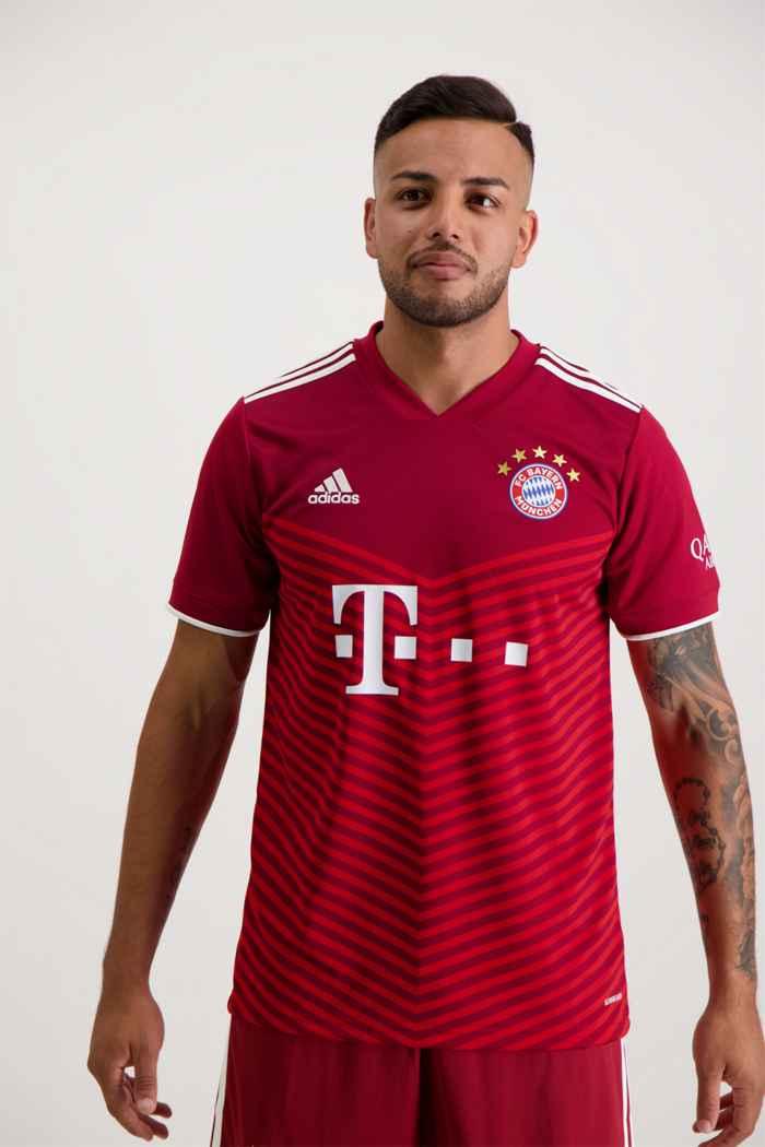 adidas Performance FC Bayern München Home Replica Herren Fussballtrikot 1