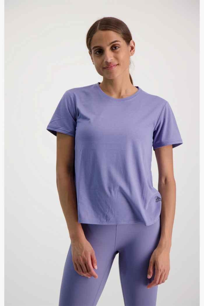 adidas Performance Go To 2.0 Damen T-Shirt Farbe Flieder 2
