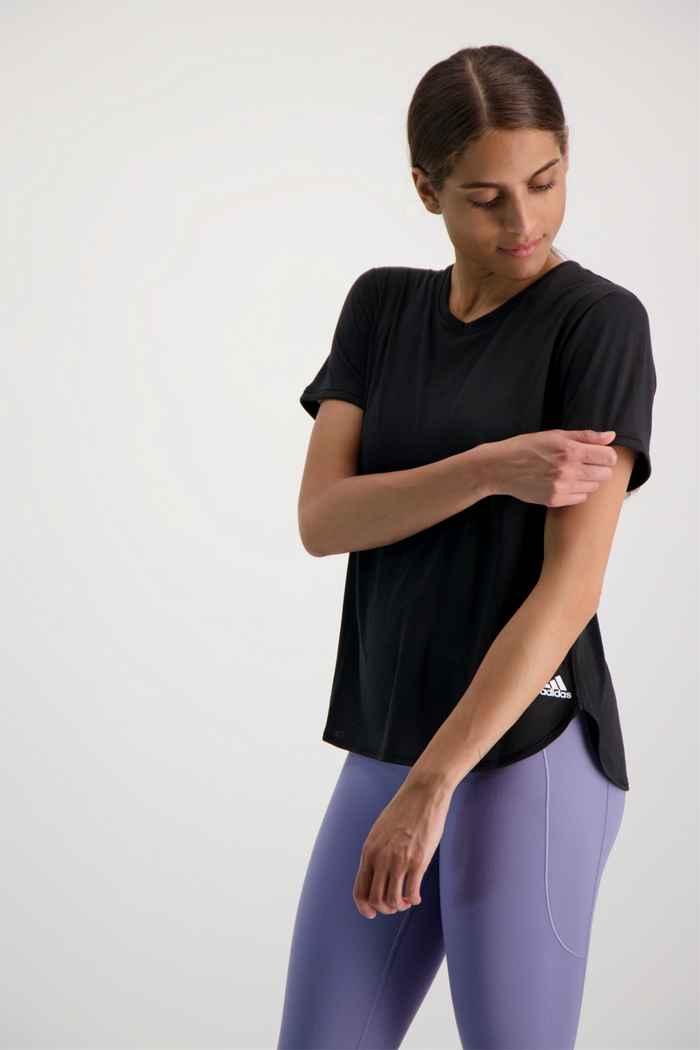 adidas Performance Go To 2.0 Damen T-Shirt Farbe Schwarz 1