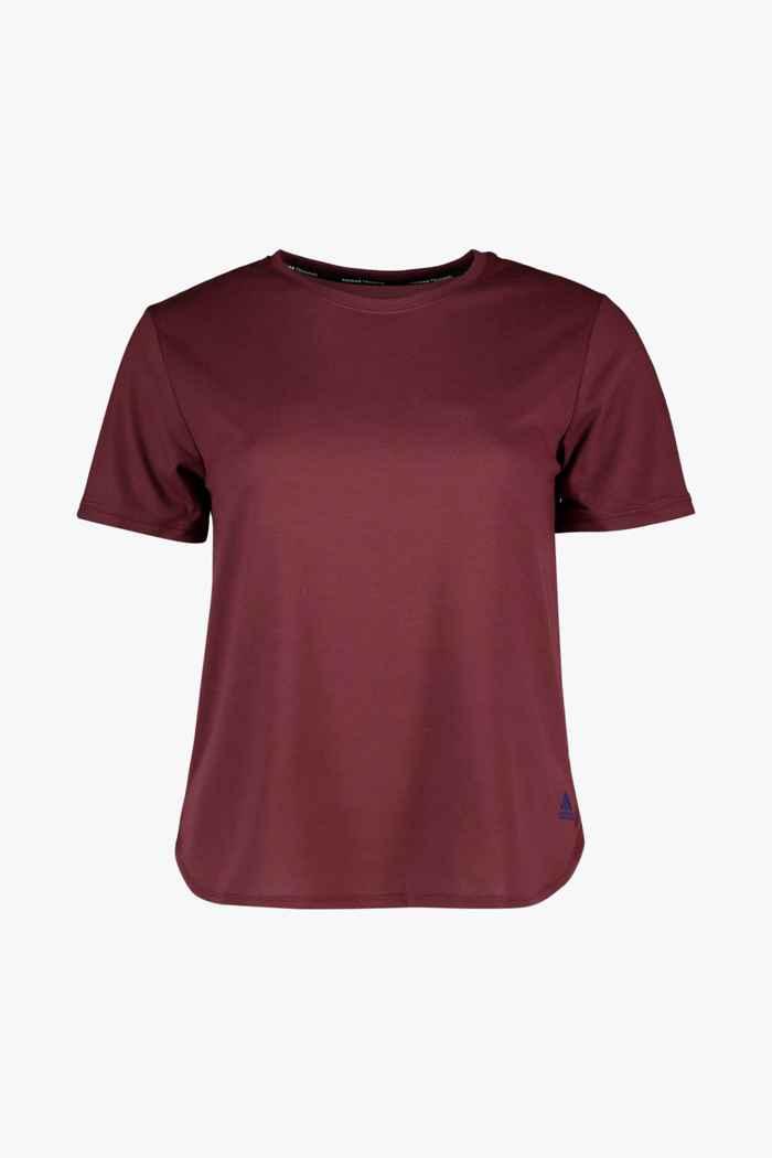 adidas Performance Go To 2.0 t-shirt femmes Couleur Bordeaux 1