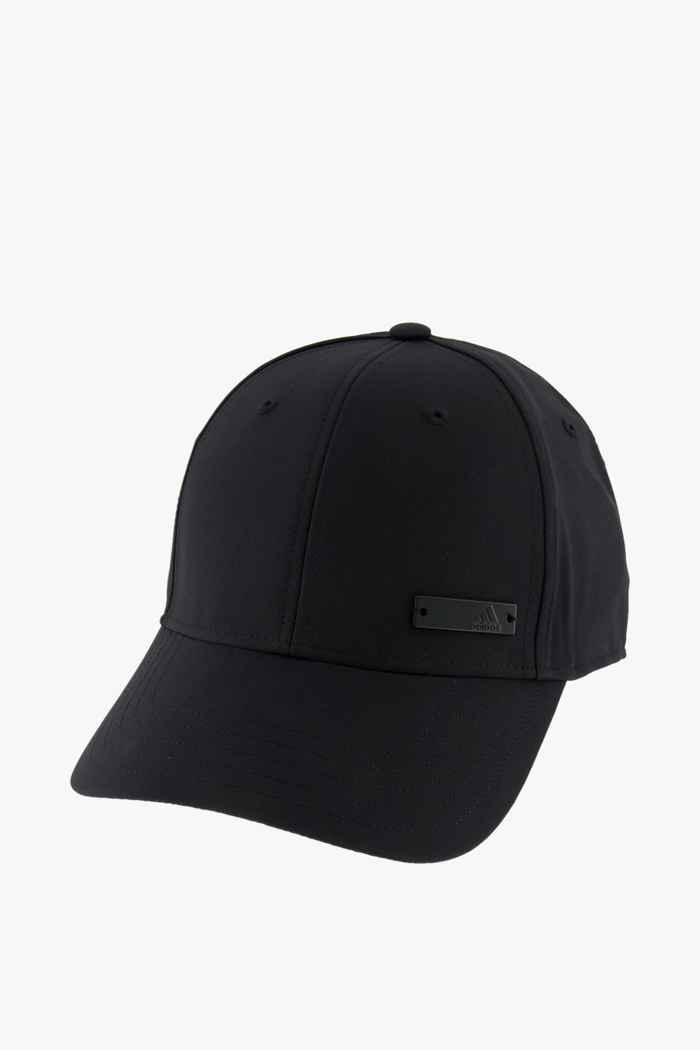 adidas Performance Lightweight Metal Badge Baseball Cap Farbe Schwarz 1