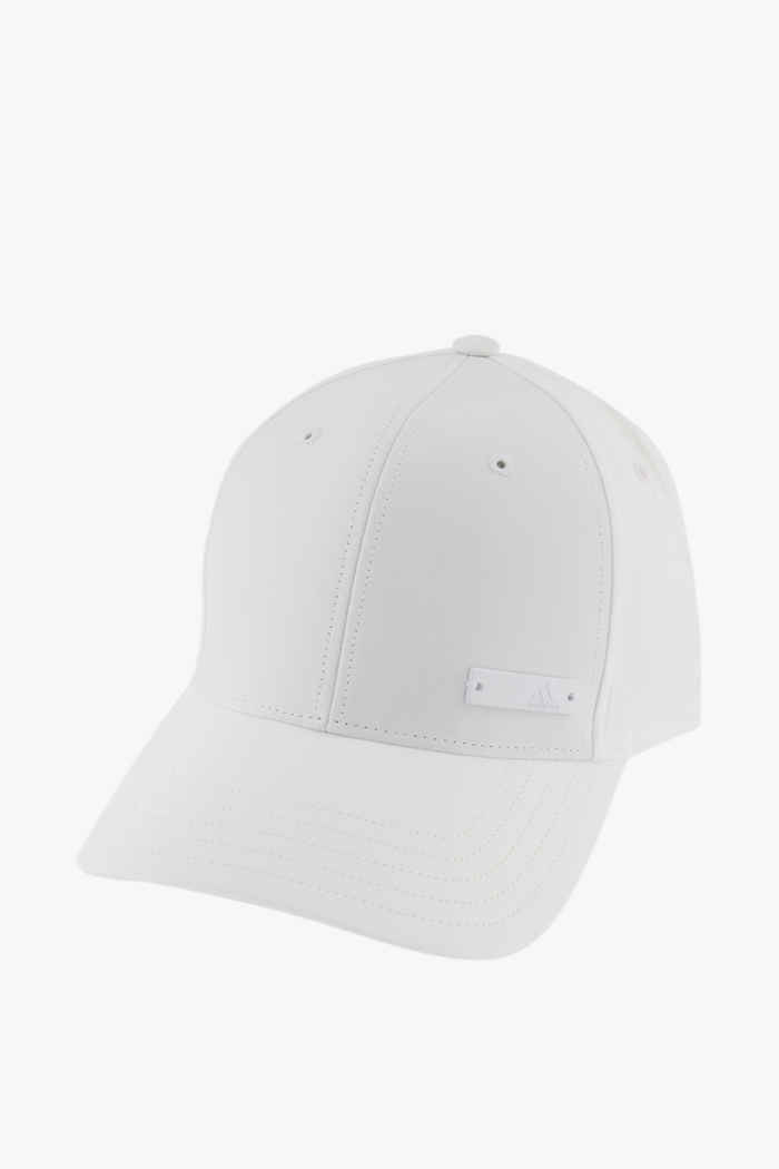 adidas Performance Lightweight Metal Badge Baseball Cap Farbe Weiß 1