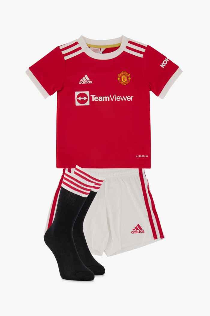 adidas Performance Manchester United Home Replica Mini Kinder Fussballset 1