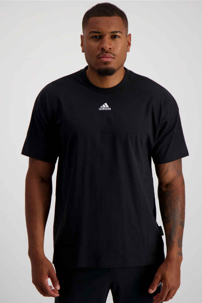 adidas Performance Must Haves 3-Streifen Herren T-Shirt 1