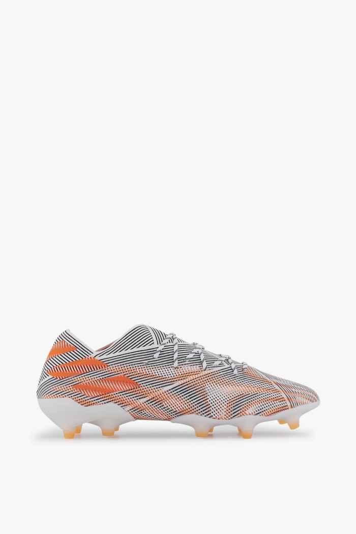 adidas Performance Nemeziz.1 FG chaussures de football hommes Couleur Blanc 2
