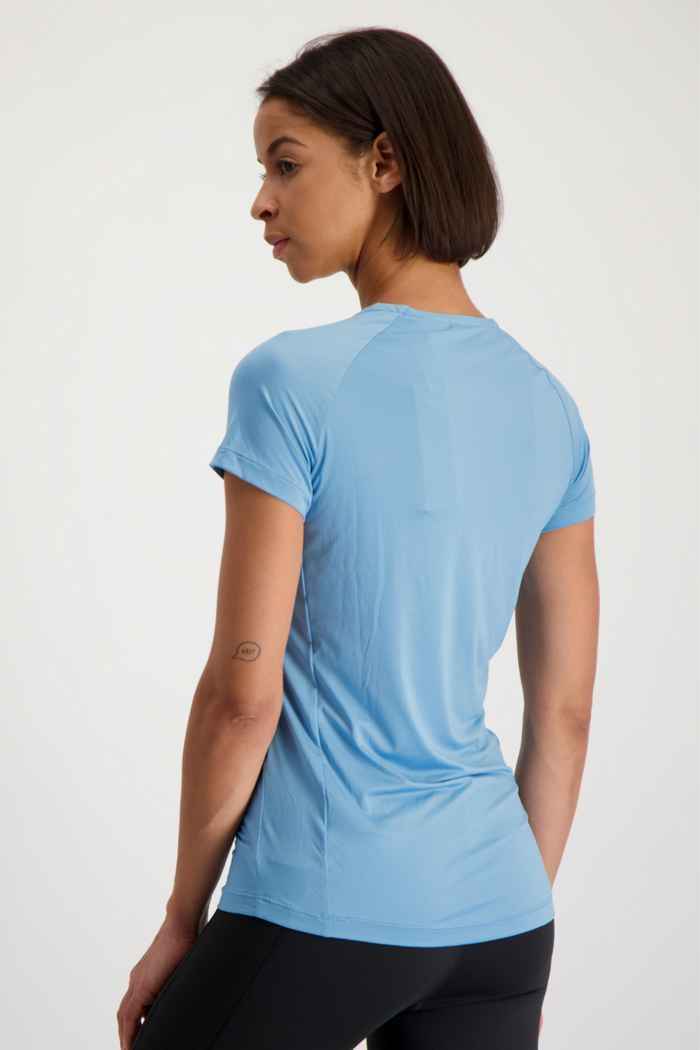 adidas Performance Performance t-shirt femmes Couleur Bleu clair 2
