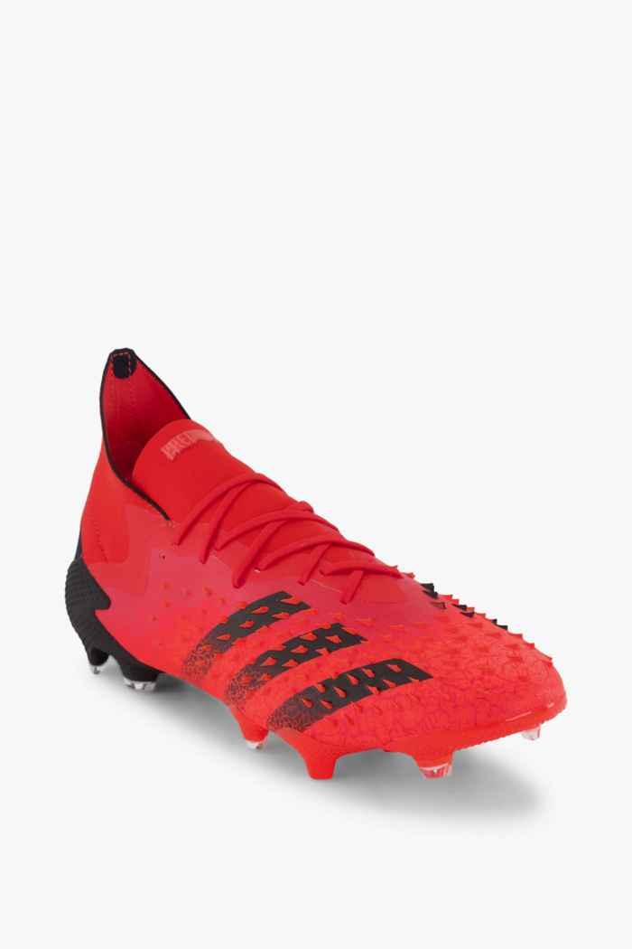 adidas Performance Predator Freak .1 FG chaussures de football hommes Couleur Rouge 1
