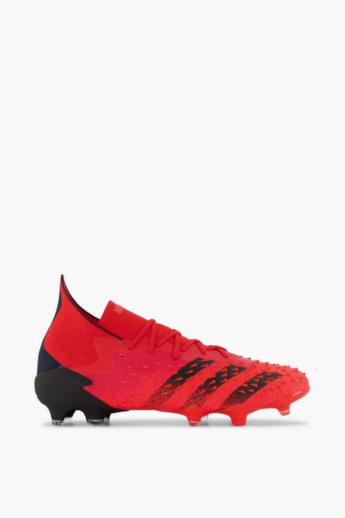 adidas Performance Predator Freak .1 FG chaussures de football hommes Couleur Rouge 2