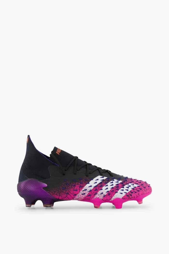 adidas Performance Predator Freak.1 FG chaussures de football hommes Couleur Noir 2