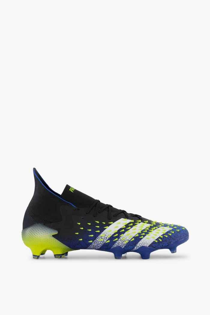 adidas Performance Predator Freak.1 FG Herren Fussballschuh Farbe Blau-schwarz 2