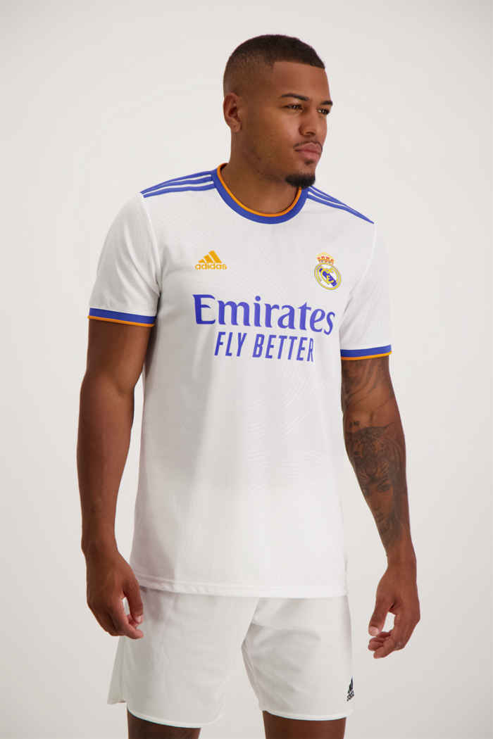 adidas Performance Real Madrid Home Replica Herren Fussballtrikot 1