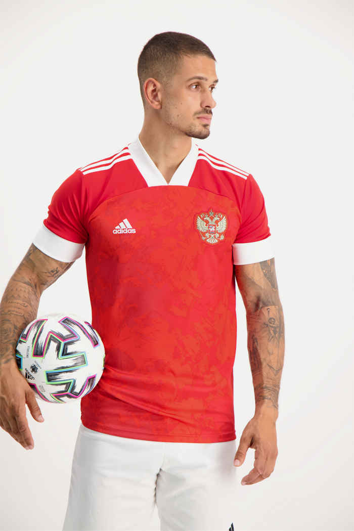 adidas Performance Russland Home Replica Herren Fussballtrikot 1