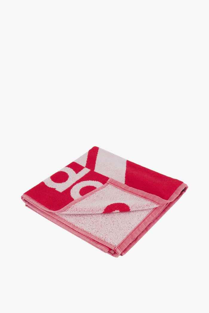 adidas Performance S 50 cm x 100 cm serviette de bain Couleur Rouge 1
