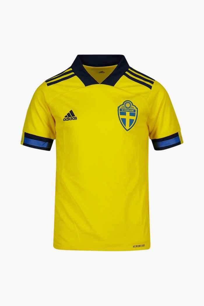 adidas Performance Schweden Home Replica Kinder Fussballtrikot 1
