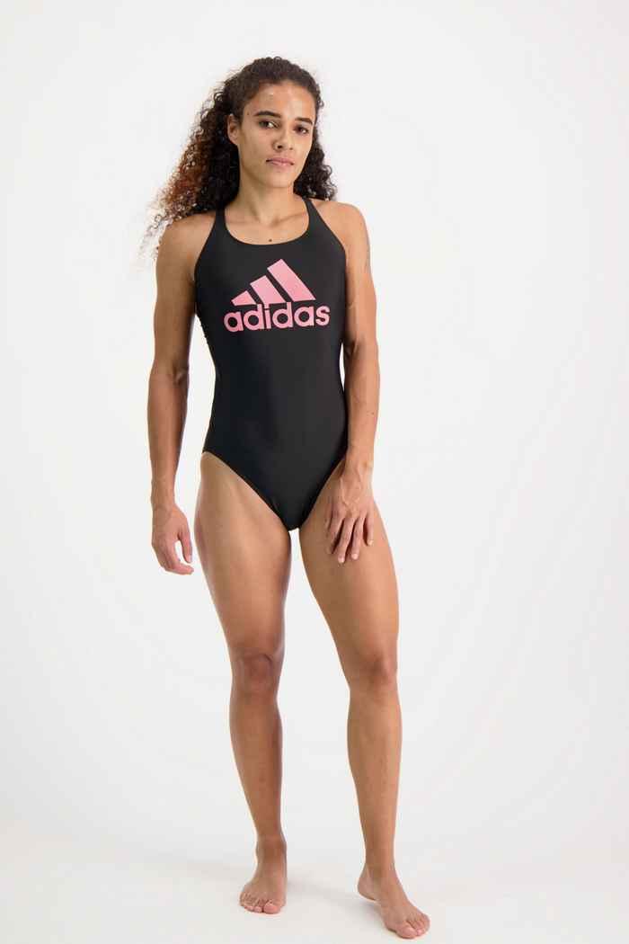 adidas Performance SH3.RO Big Logo Damen Badeanzug 1