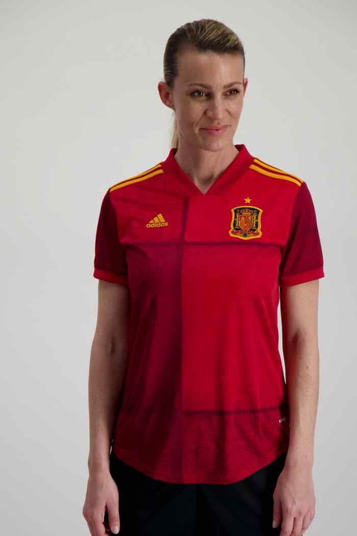adidas Performance Spanien Home Replica Damen Fussballtrikot 1