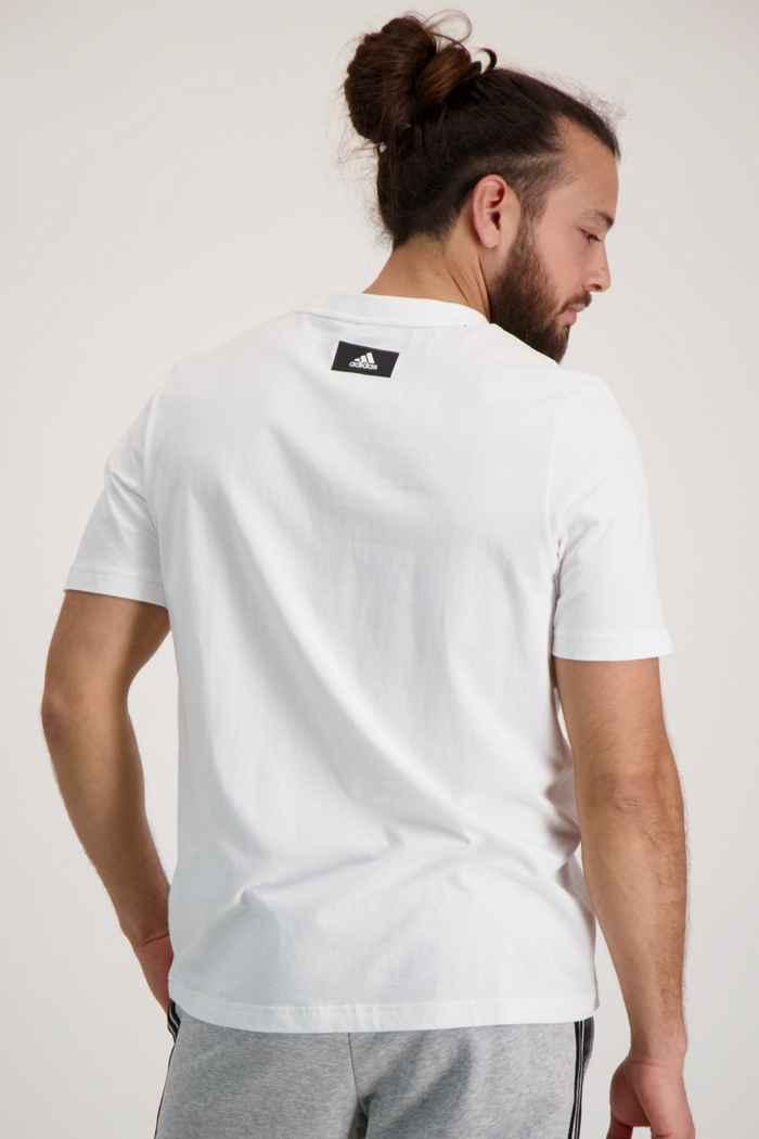 adidas Performance Sportswear Logo Herren T-Shirt 2