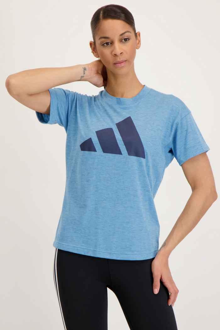adidas Performance Sportswear Winners 2.0 Damen T-Shirt Farbe Blau 1