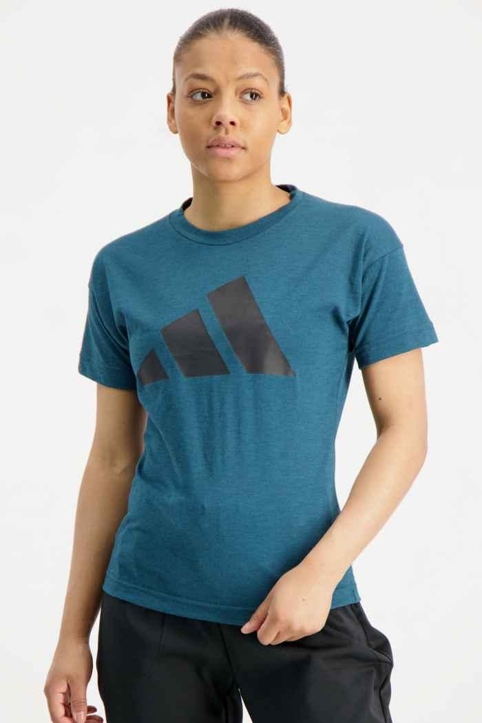 adidas Performance Sportswear Winners 2.0 t-shirt donna Colore Blu petrolio 1