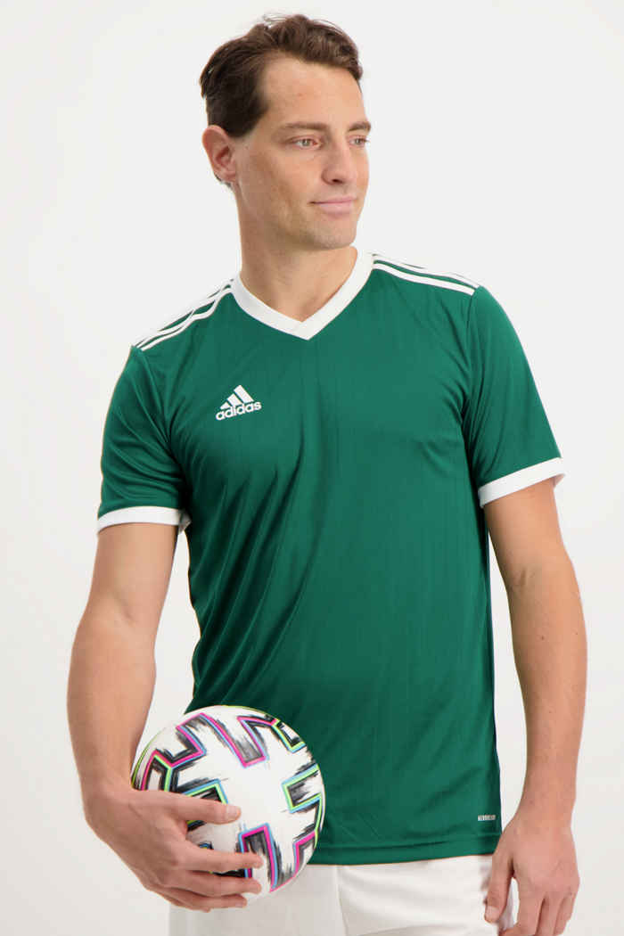 adidas Performance Tabela 18 t-shirt hommes Couleur Vert 1