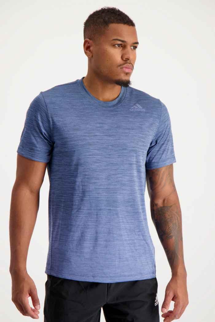 adidas Performance Tech Gradient Herren T-Shirt Farbe Blau 1