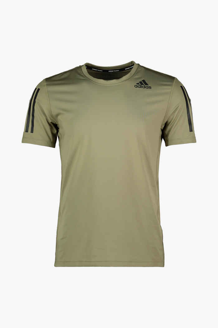 adidas Performance Techfit 3S Fitted t-shirt hommes 1