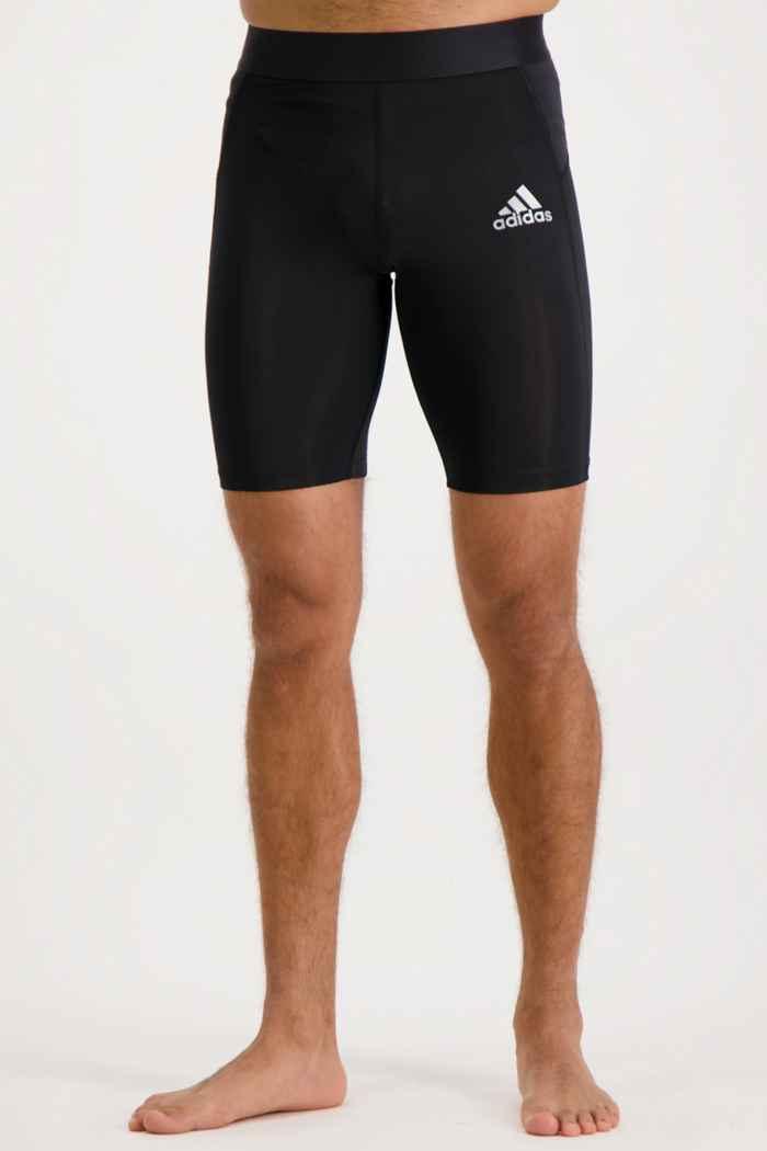 adidas Performance Techfit Herren Short Farbe Schwarz 1