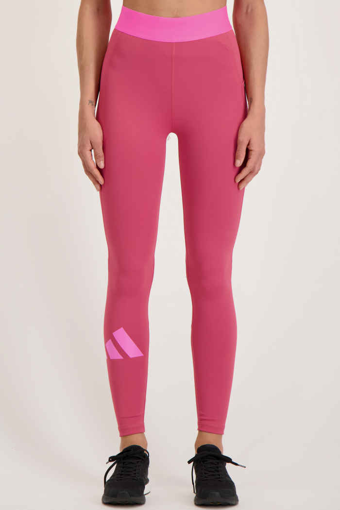adidas Performance Techfit Life Damen Tight Farbe Pink 1