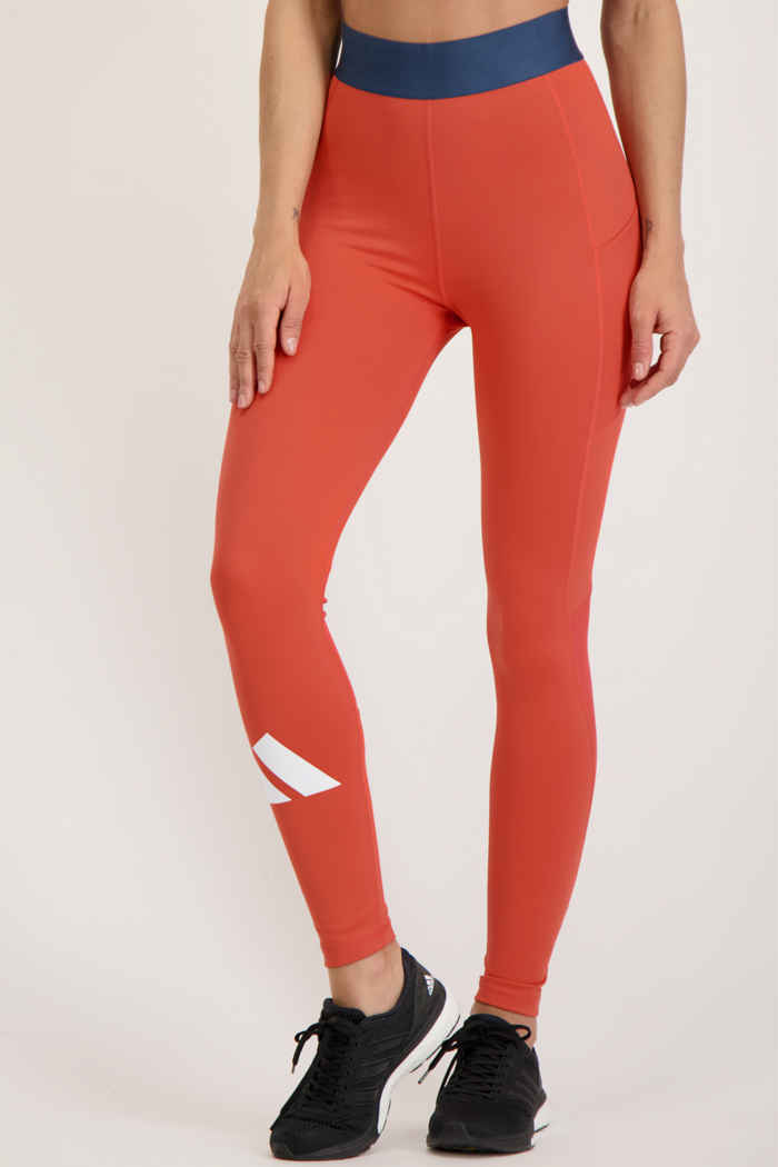adidas Performance Techfit Life tight donna Colore Rosso 1
