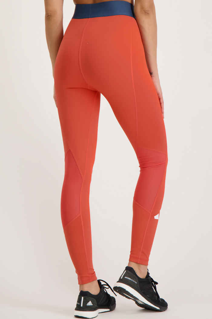 adidas Performance Techfit Life tight donna Colore Rosso 2