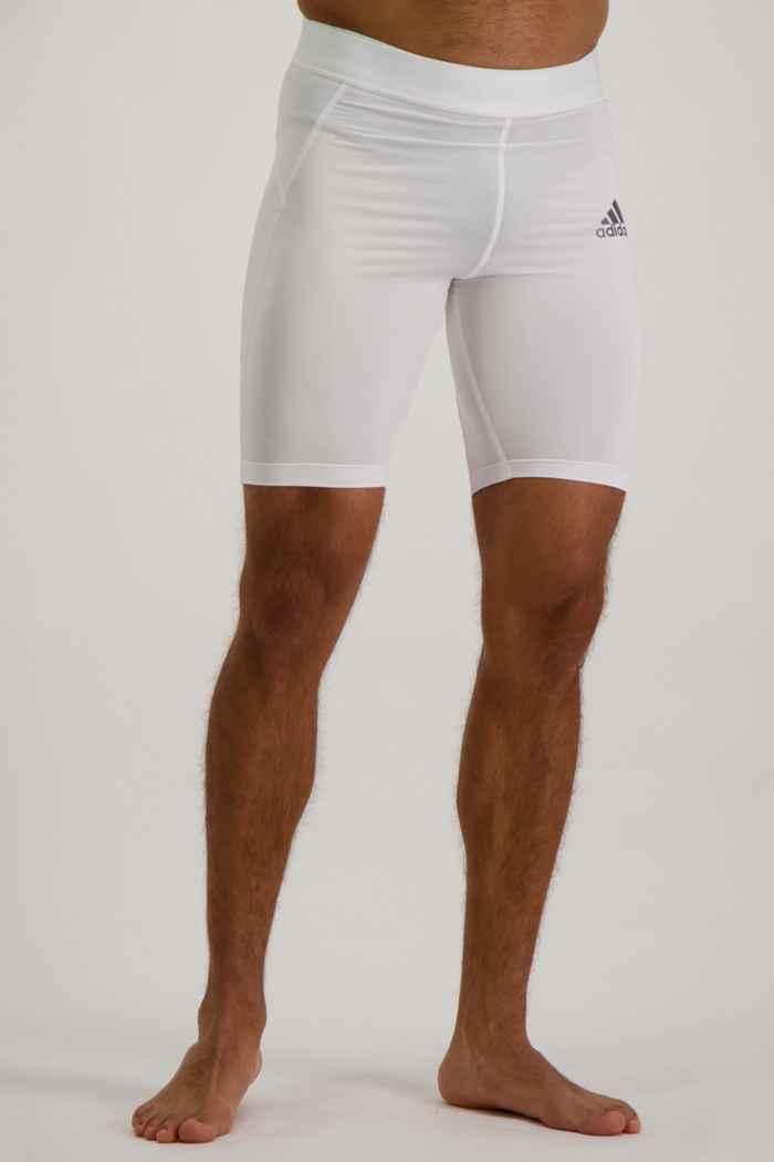 adidas Performance Techfit short hommes Couleur Blanc 1