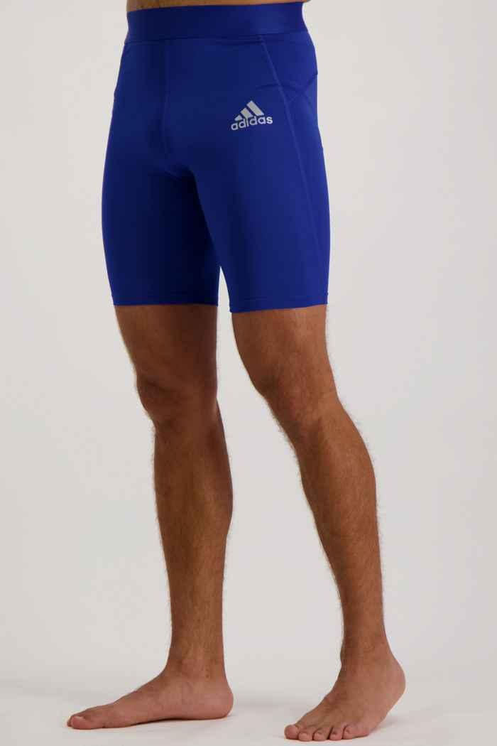 adidas Performance Techfit short hommes Couleur Bleu 1