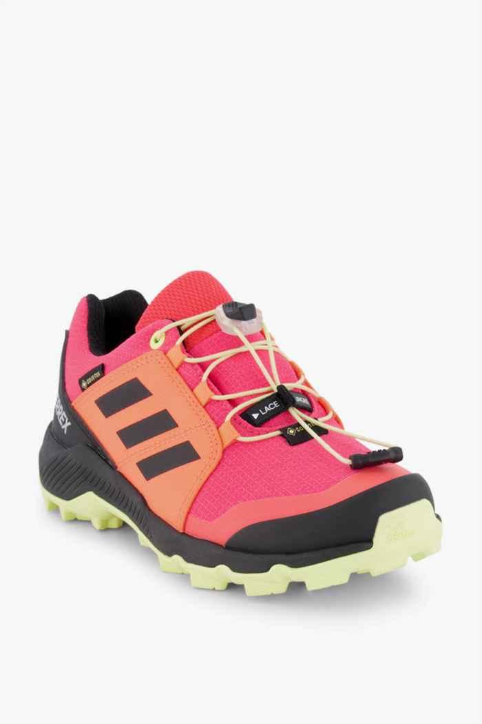 adidas Performance Terrex Gore-Tex® chaussures de trekking enfants Couleur Rouge 1