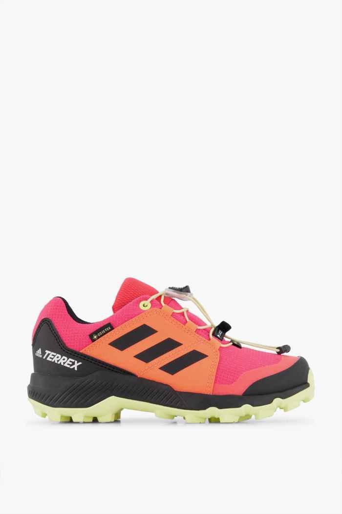 adidas Performance Terrex Gore-Tex® chaussures de trekking enfants Couleur Rouge 2