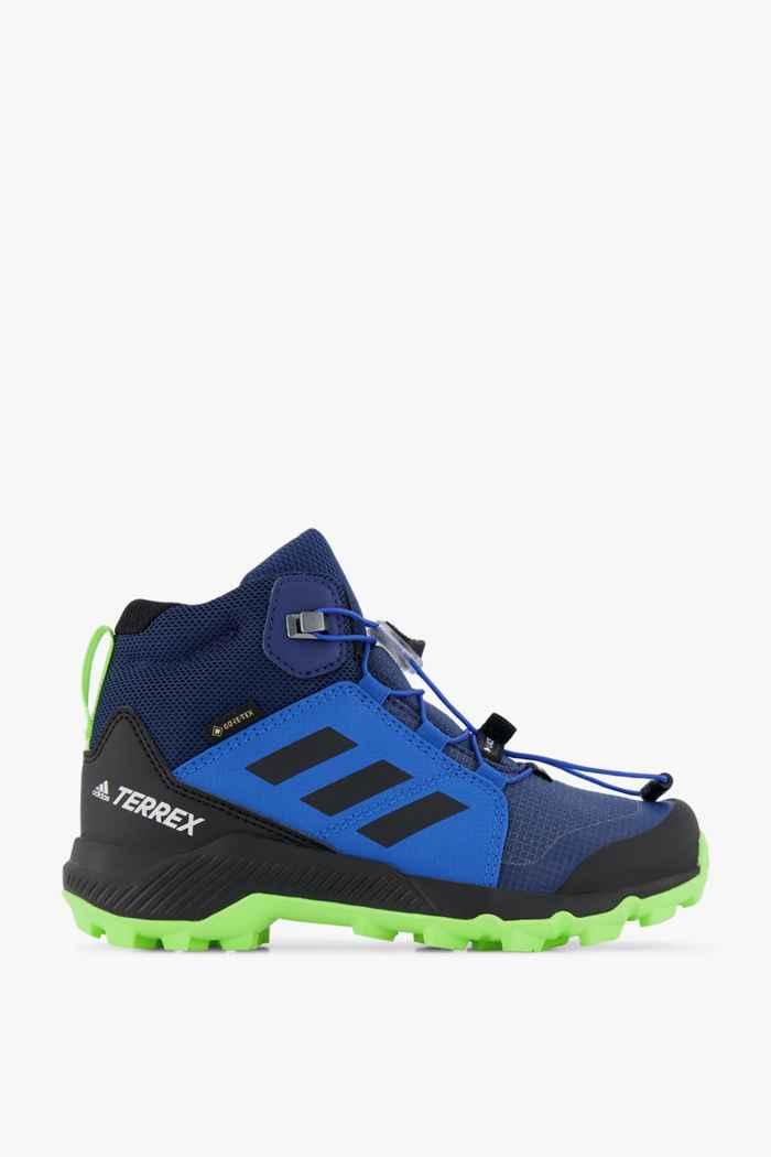 adidas Performance Terrex Mid Gore-Tex® chaussures de randonnée enfants Couleur Bleu 2