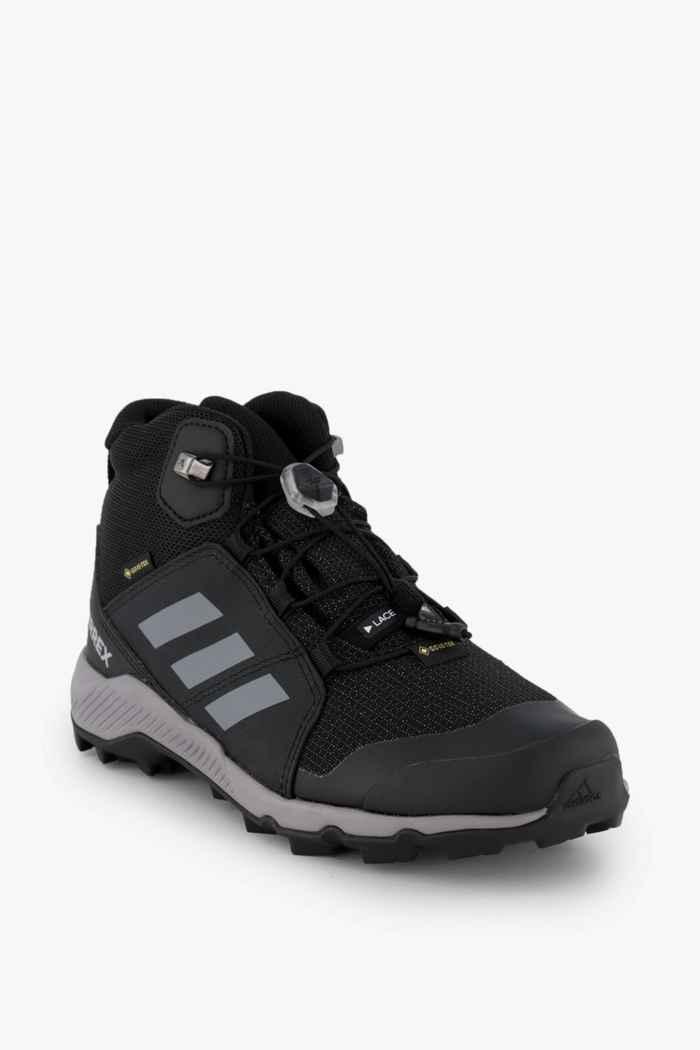adidas Performance Terrex Mid Gore-Tex® chaussures de randonnée enfants Couleur Noir/gris 1