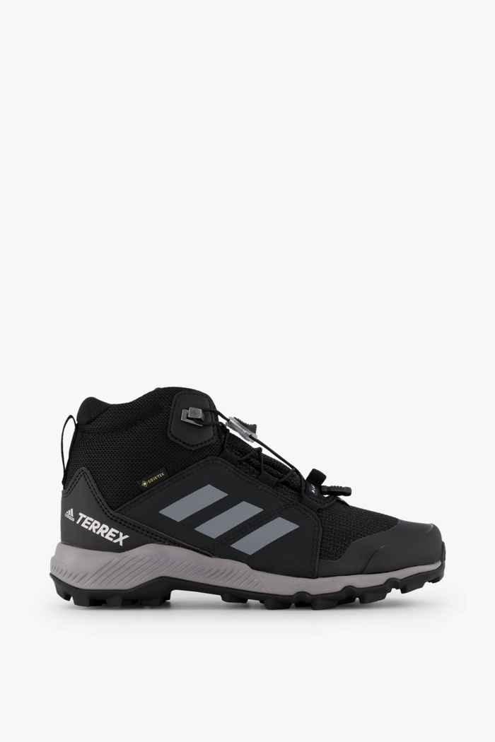 adidas Performance Terrex Mid Gore-Tex® chaussures de randonnée enfants Couleur Noir/gris 2