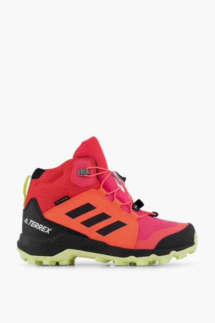 adidas Performance Terrex Mid Gore-Tex® chaussures de randonnée enfants Couleur Rouge 2