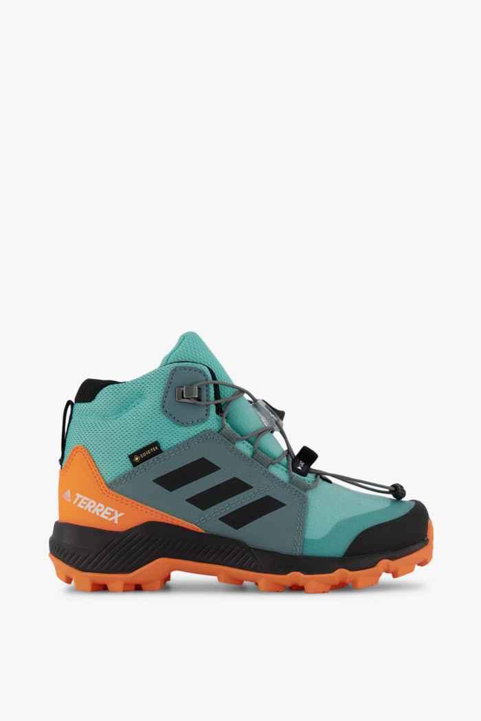 adidas Performance Terrex Mid Gore-Tex® Kinder Wanderschuh Farbe Blau 2