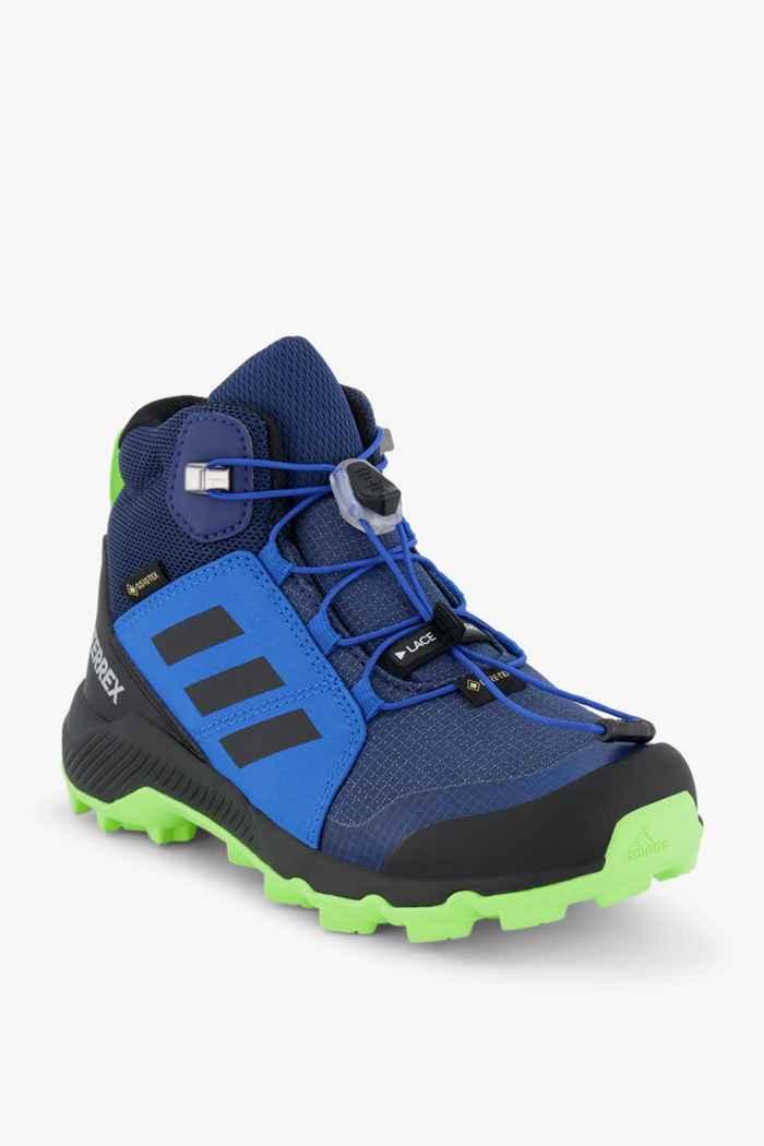 adidas Performance Terrex Mid Gore-Tex® scarpe da trekking bambini Colore Blu 1