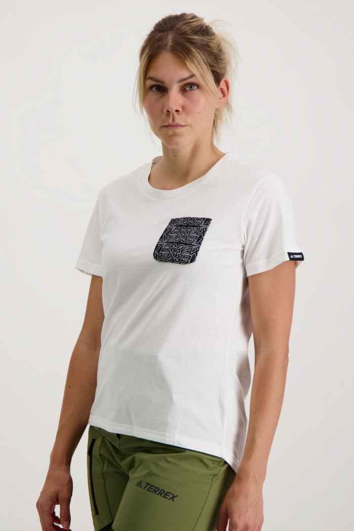 adidas Performance Terrex Pocket Graphic Damen T-Shirt 1