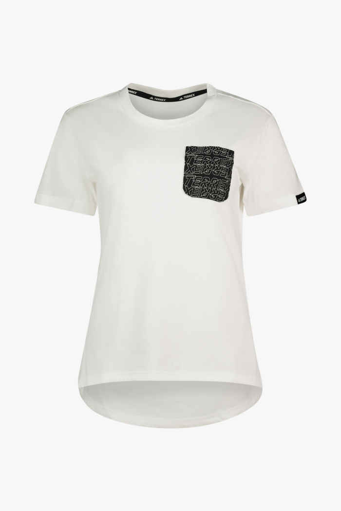 adidas Performance Terrex Pocket Graphic t-shirt femmes 1