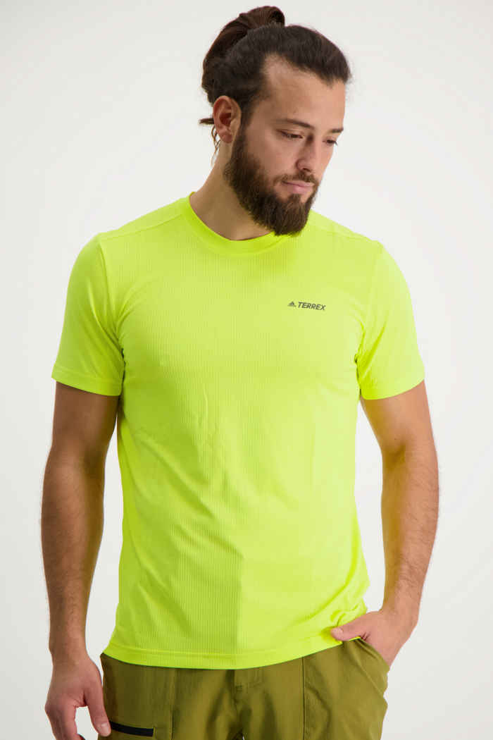 adidas Performance Terrex Tivid t-shirt hommes Couleur Jaune 1