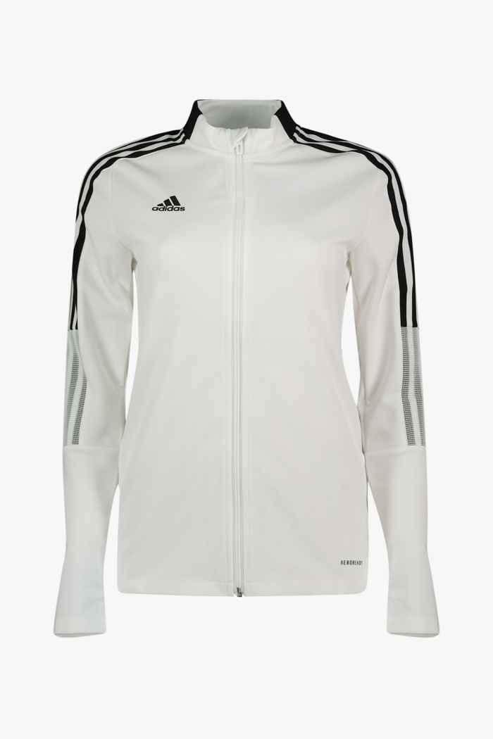 adidas Performance Tiro 21 Damen Trainingsjacke Farbe Weiß 1