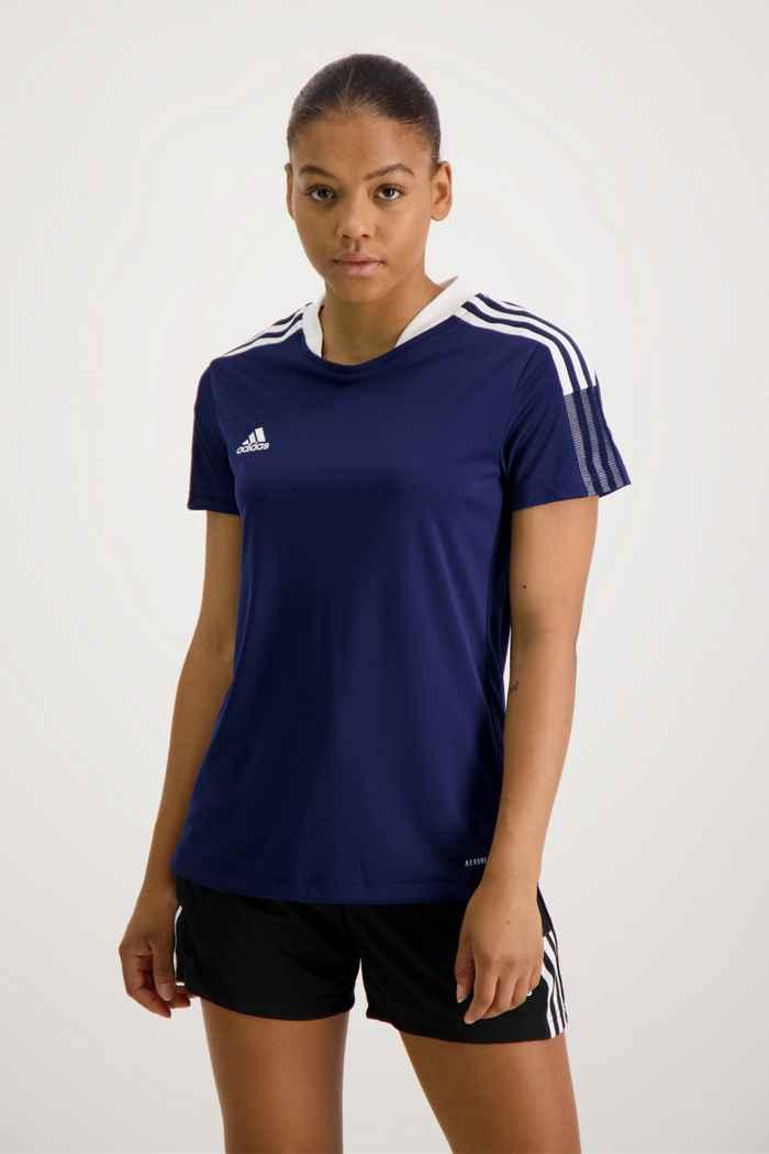 adidas Performance Tiro 21 t-shirt femmes Couleur Bleu navy 1
